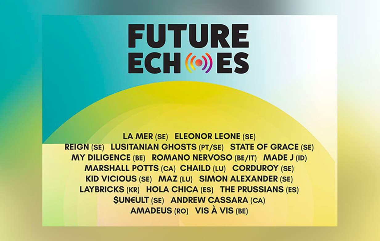 La présence de MAZ & CHAiLD confirmée pour la première édition du festival Future Echoes, en Suède