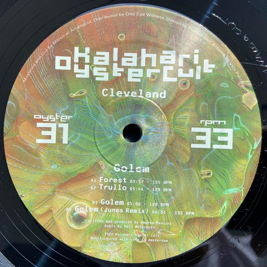 Cleveland lauréat de la résidence de Cité internationale des Arts à Paris sortira son nouvel EP, Golem