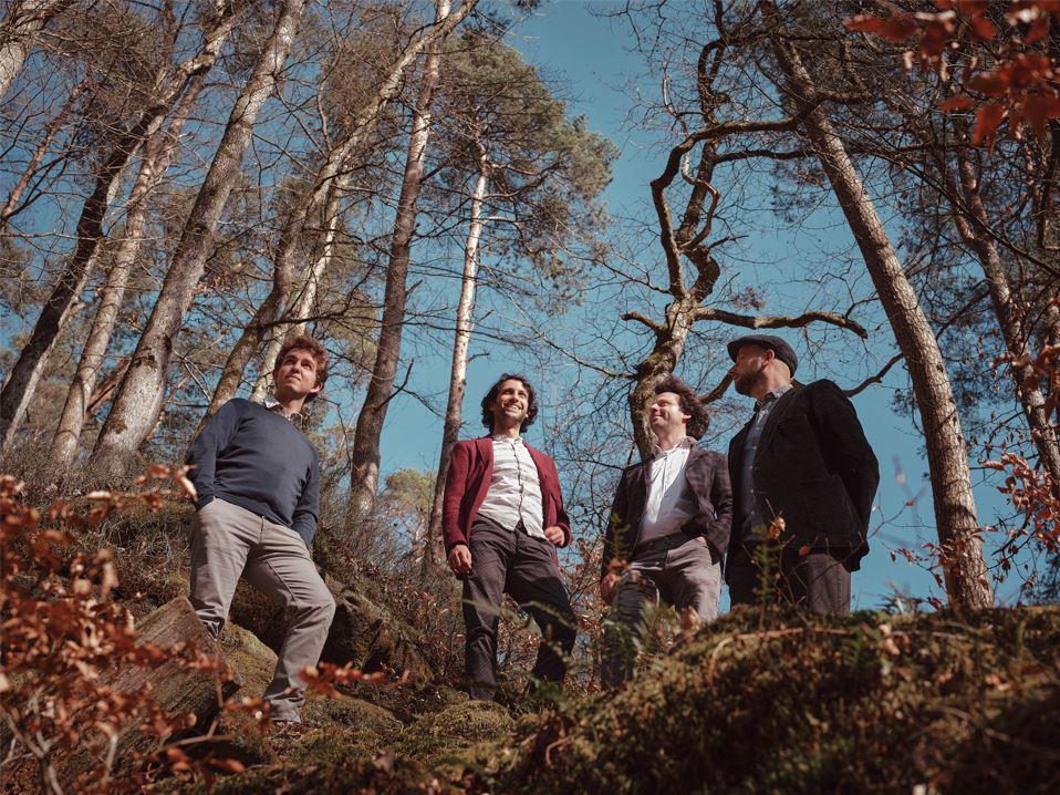 "Arthur Possing Quartet (Album release, ""Natural Flow"" - Bruges) EN"