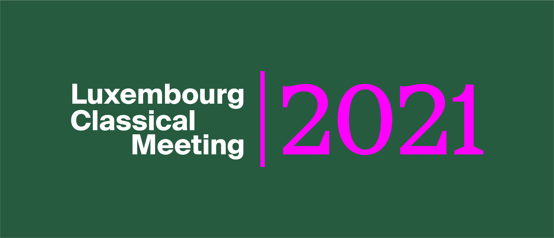 Luxembourg Classical Meeting showcases Luxembourgish's solists, ensembles and young talents