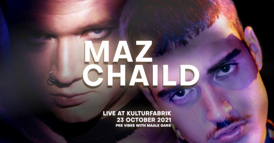L'inimitable duo CHAiLD x Maz en concert à la KuFa le 23 octobre!
