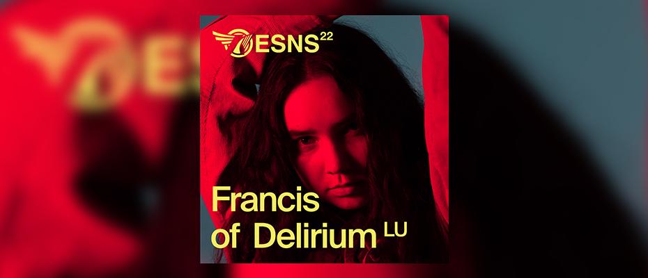 Francis of Delirium confirmé pour Eurosonic 2022
